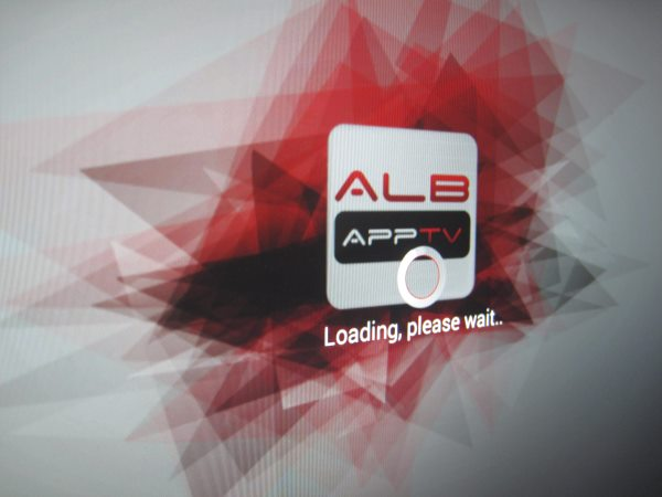 "Default App ALB AppTV sat here ""loading"" forever, I don't even know what it does as it refused to go past this screen"